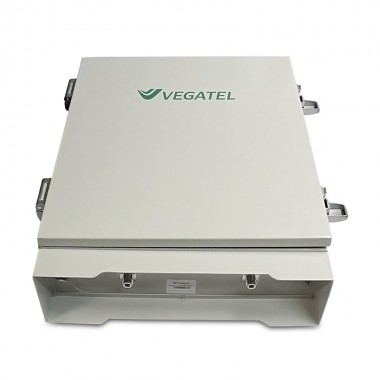 Бустер VEGATEL VTL40-1800/3G (1800/2100 МГц, 10000 мВт)