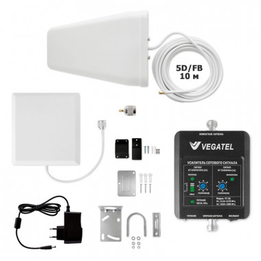Комплект VEGATEL VT-3G-kit (дом, LED) (2100 МГц, 32 мВт)