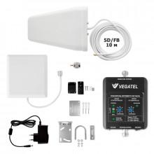 Комплект VEGATEL VT2-3G-kit (дом, LED)