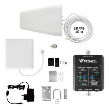 Комплект VEGATEL VT2-900E-kit (дом, LED) (900 МГц, 158 мВт)