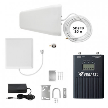 Комплект VEGATEL VT3-900L-kit (дом, LED) (900 МГц, 320 мВт)