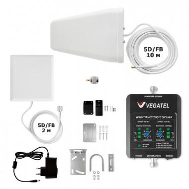 Комплект VEGATEL VT-900E/3G-kit (дом, LED) (900/2100 МГц, 50 мВт)