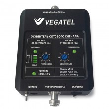 Репитер VEGATEL VT-3G (LED) (2100 МГц, 32 мВт)