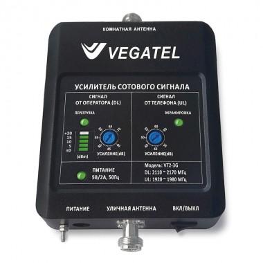 Репитер VEGATEL VT2-3G (LED) (2100 МГц, 158 мВт)